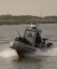 Security Boat Training